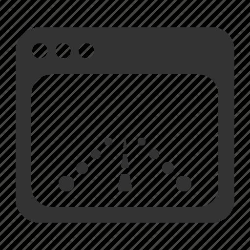 landing page, page, site, web, webpage icon