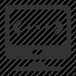 application, code, custom codding, development, screen icon