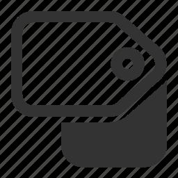 categoris, pricetag, tags, titles icon