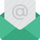 email, inbox, mail icon icon