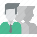 business group, business team, corporation, marketing team, partnership, professionals, team icon icon