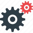 cog, cogwheel, gear, gearwheel, settings icon icon