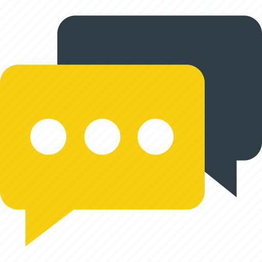 chat balloon, chat bubble, comments, speech balloon, speech bubble icon icon