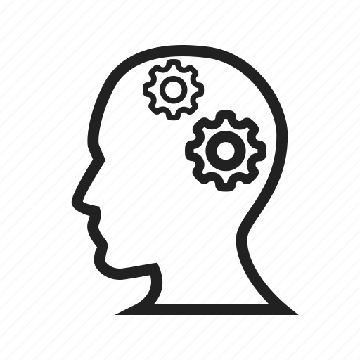 brain, brainstorming, human, internet, knowledge, laptop, skills icon
