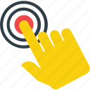 gesture, hand, hand touch, touch icon