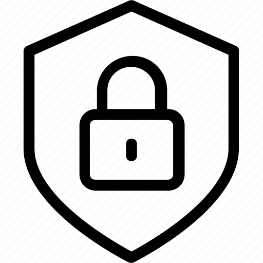 Lock, privacy, protection, security, shield icon icon - Download on Iconfinder