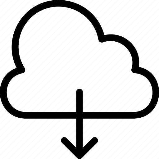 cloud, cloud computing, computing, downloading, icloud icon icon