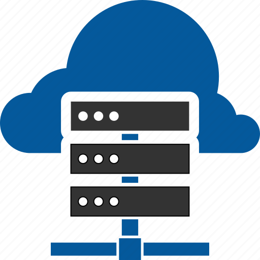 Cloud, storage, database, server icon - Download on Iconfinder