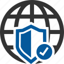 cyber, firewall, safety, security, shield icon
