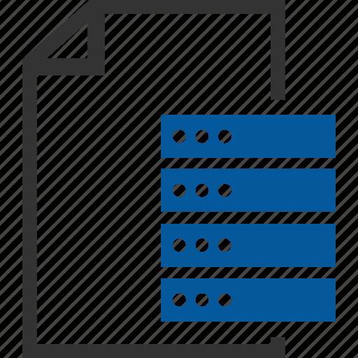 Database, document, host, hosting, server, seo icon - Download on Iconfinder