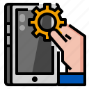 control, device, mobile, smartphone icon