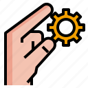 application, control, scalable, shrink icon