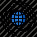 global, world, network