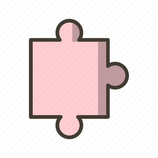 concept, jigsaw, puzzle icon