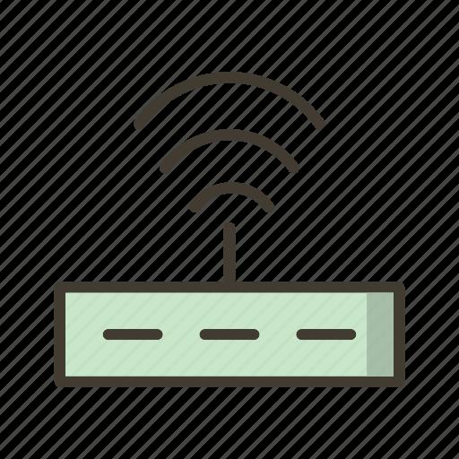 internet signals, router, wifi icon