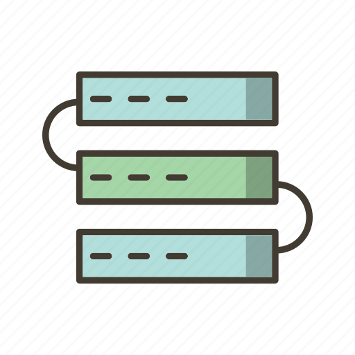connection, network, server icon