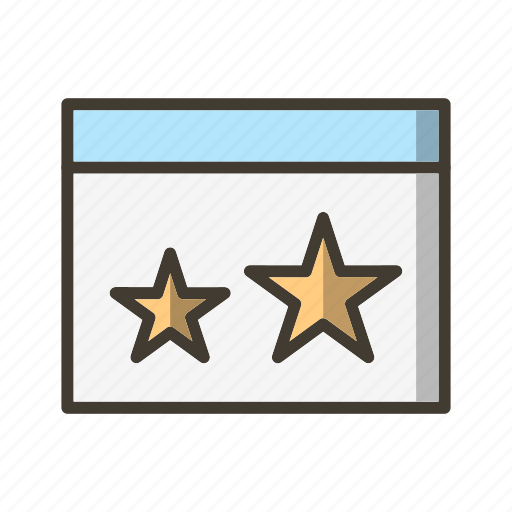 Browser, favourite, starred icon - Download on Iconfinder