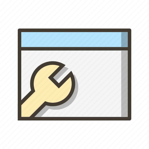browser configuration, browser settings, setting icon