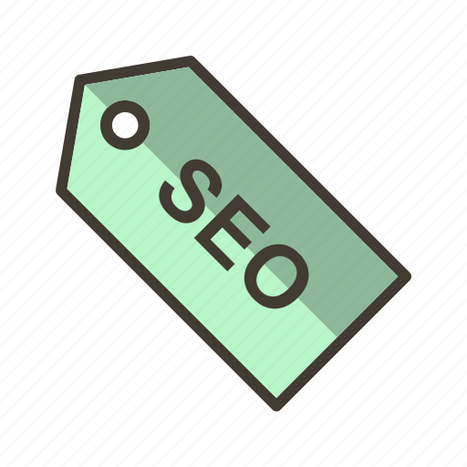 label, seo, tag icon
