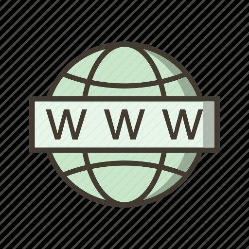 site, web, www icon