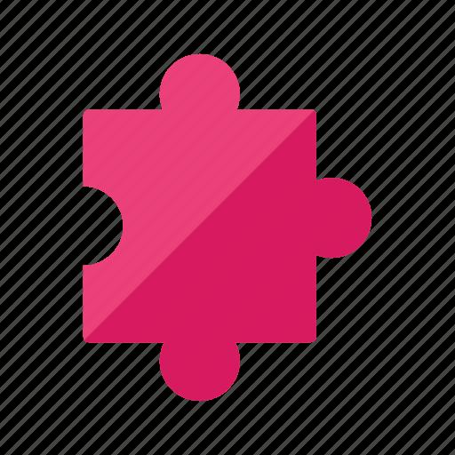 concept, jigsaw, puzzle piece icon