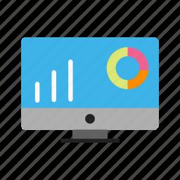 bar chart, graphs, pie chart icon