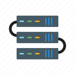 connection, network, servers icon