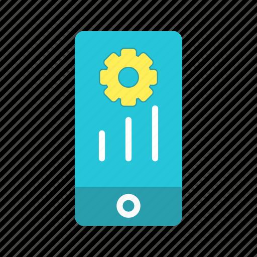 mobile, mobile marketing, programing, settings icon
