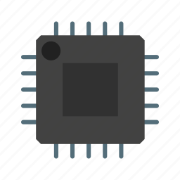 cpu, microchip, processor icon