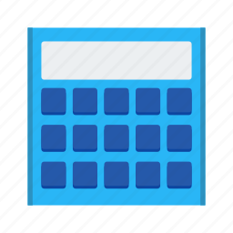 calculation, calculator, mathematics icon