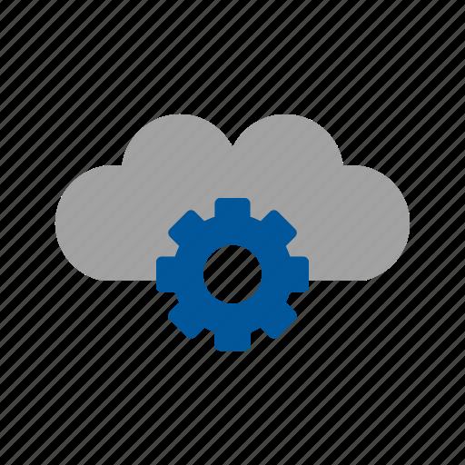 cloud, cloud settings, settings icon