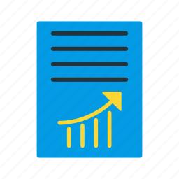 analytics, article, business, finance, graph, marketing, statistics icon