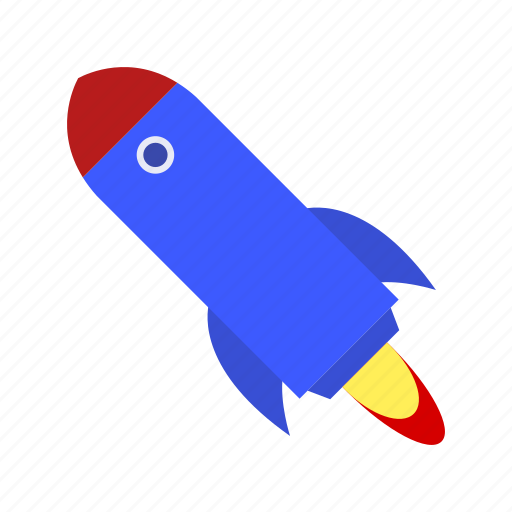 launch, rocket, spaceship, startup icon