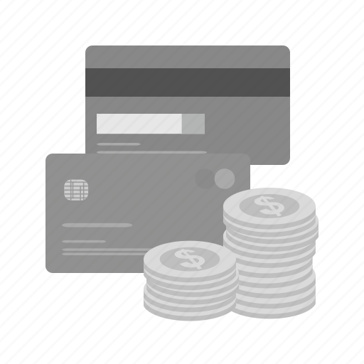 account, accounting, banker, banking, card, coins, credit card icon