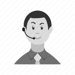 agent, business, call, customer, headphones, support, technical icon
