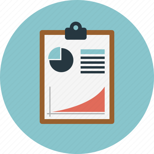 analytics report sales statistic icon icon search engine