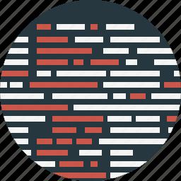code, codeing, line, programing icon