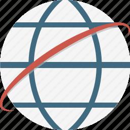 atlas, global, globe, internet icon