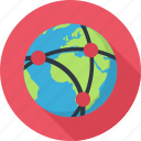 earth, network, planet, seo
