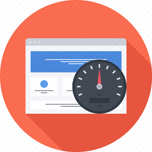 page, seo, site, speed icon
