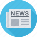 news, newspaper, press, press release icon