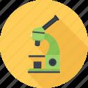 search, study, microscope, research