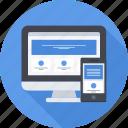 responsive, web, design, web design