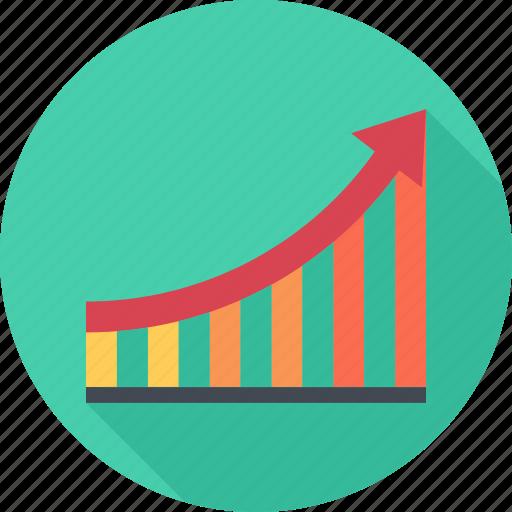 graph, optimization, performance, seo icon