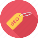 badge, seo, seo tag, tag icon