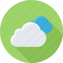cloud, madia cloud, media, social media cloud icon