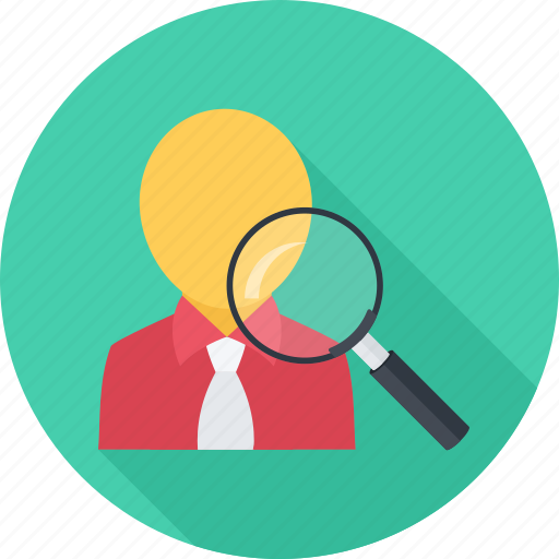 headhunter, job, search, staff recruitment, user icon