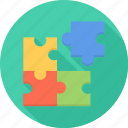 seo, organization, puzzle, structure icon