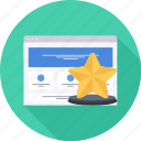 achievement, prize, site, top, top site, victory icon