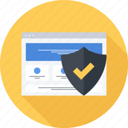 security, seo, site, web icon